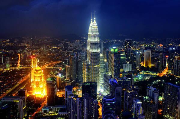Photograph - Skyline Of Kuala Lumpur by Fabrizio Troiani