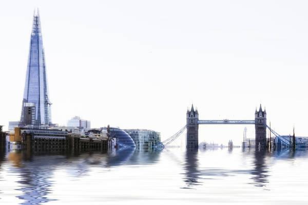 Shard Wall Art - Photograph - skyline of London by Joana Kruse
