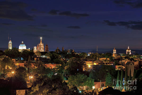 Photograph - Skyline Of San Miguel De Allende, Mexico by Sam Antonio Antonio