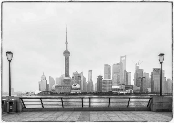 Photograph - Skyline Shanghai by Usha Peddamatham