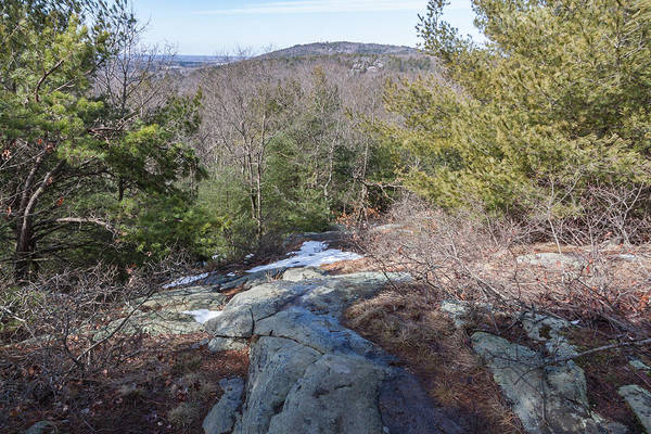 Photograph - Skyline Trail On Buck Hill Looking Towards Great Blue Hill  by Brian MacLean