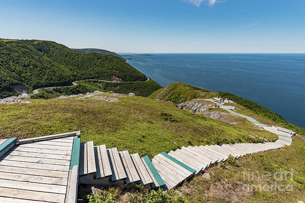 Cabot Trail Photograph - Skyline Trail by Zawhaus Photography