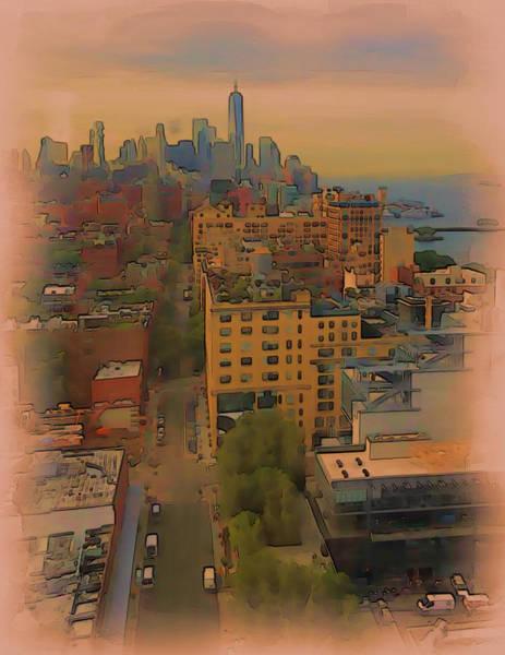 Digital Art - Skyline by Tristan Armstrong