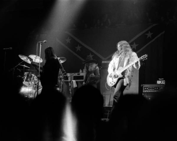 Photograph - Skynyrd Sf 1975 #11 by Ben Upham