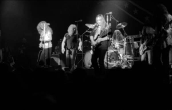 Photograph - Skynyrd Sf 1975 #6 by Ben Upham