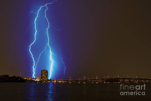 Bolts Photograph - Sky's The Limit by Quinn Sedam