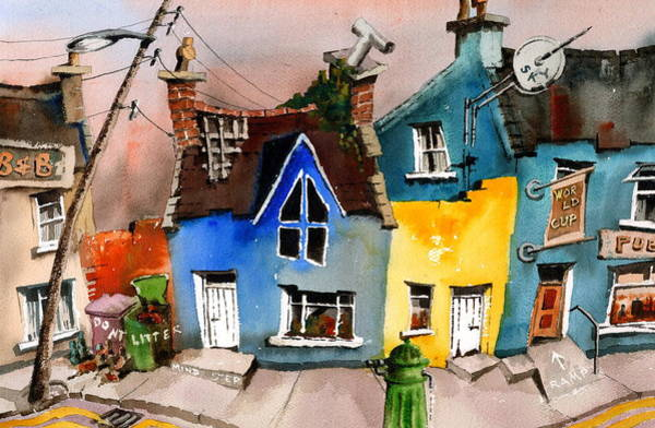 Painting - Skys The Limit In  Ardgroom, Cork by Val Byrne