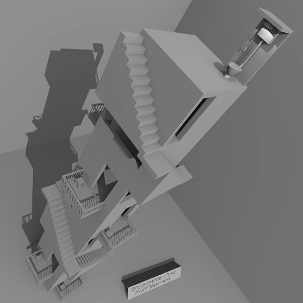 Digital Art - Skyscraper Five by Rolf Bertram
