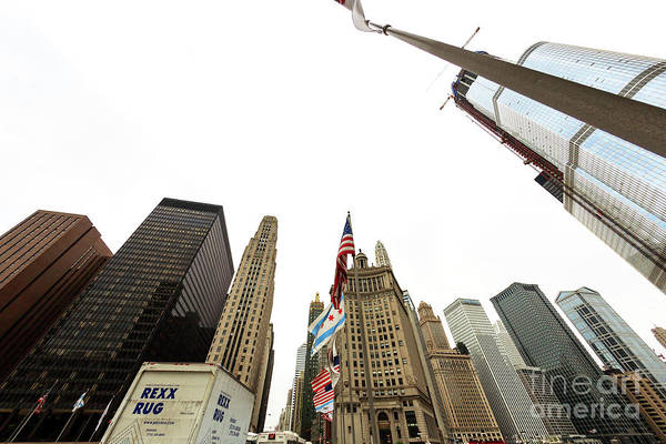Wall Art - Photograph - Skyscraper Lines Chicago by John Rizzuto