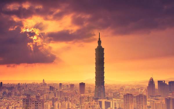 Skyline Digital Art - Skyscraper by Super Lovely