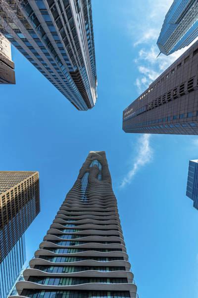 Photograph - Skyscrapers by Randy Scherkenbach