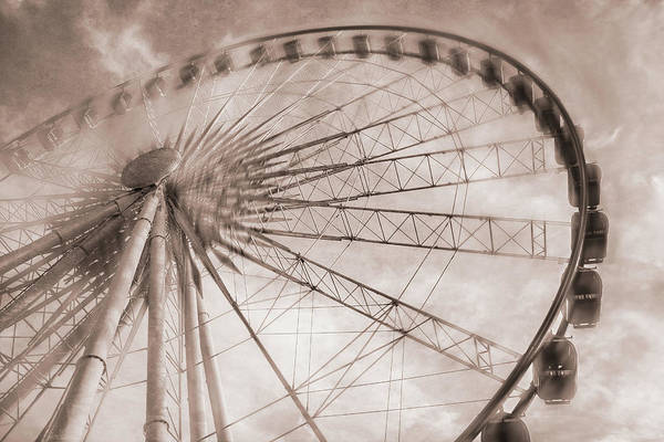 Digital Art - Skywheel In Niagara Falls by Eduardo Tavares