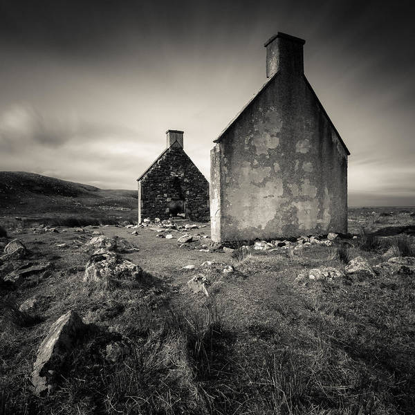 Wall Art - Photograph - Slaggan Ruins by Dave Bowman
