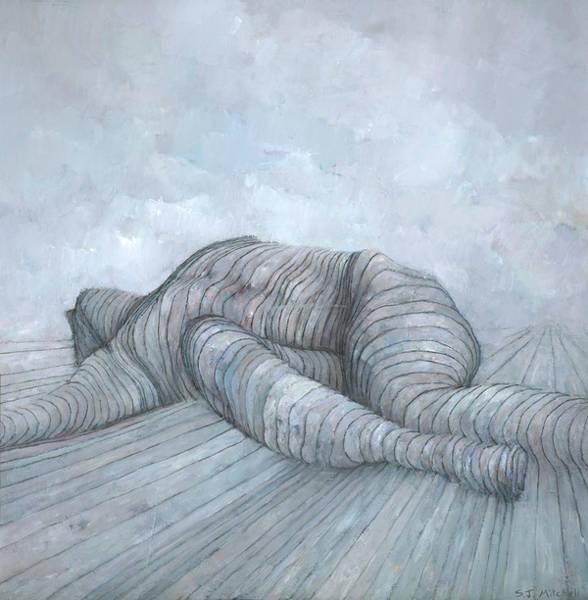 Wall Art - Painting - Slain by Steve Mitchell