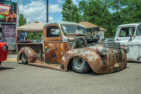 Photograph - Slammed Chevrolet by Tony Baca