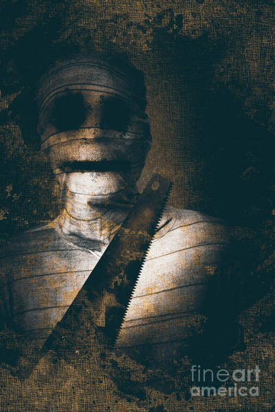 Wall Art - Photograph - Slasher Horror Mummy by Jorgo Photography - Wall Art Gallery