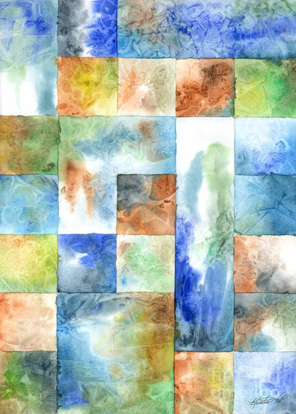 Painting - Slated Watercolor by Kristen Fox