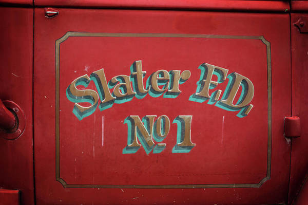 Photograph - Slater Fd by Bud Simpson
