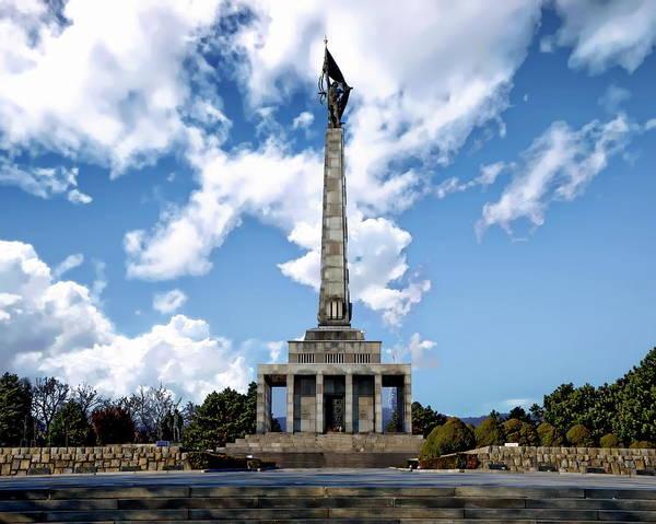 Photograph - Slavin War Memorial by Anthony Dezenzio