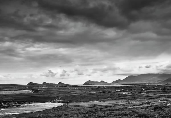Photograph - Slea Head Landscape Bw #g0 by Leif Sohlman
