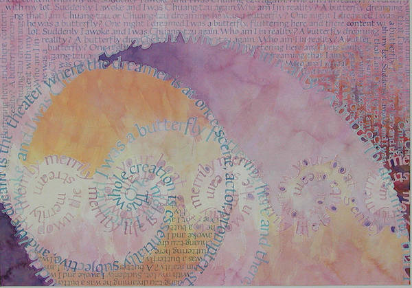 Quotation Painting - Sleep Flow by Sid Freeman