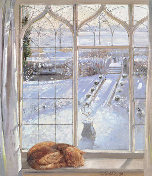 Wall Art - Painting - Sleeper by Timothy Easton