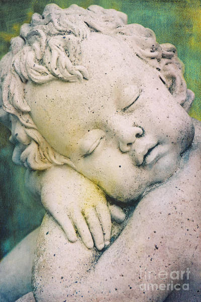 Photograph - Sleeping Angel by Angela Doelling AD DESIGN Photo and PhotoArt