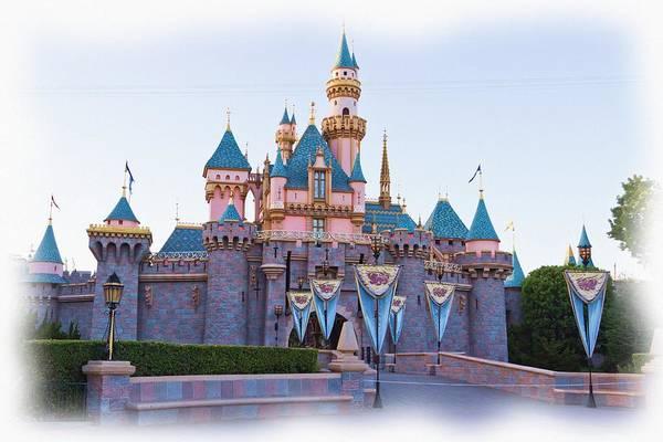 Imagine Photograph - Sleeping Beauty's Castle Disneyland by Heidi Smith