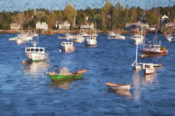 Wall Art - Digital Art - Sleeping Boats IIi by Jon Glaser