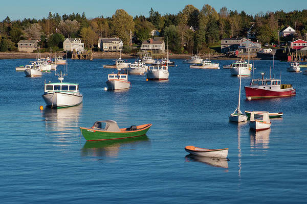 Promotion Photograph - Sleeping Boats by Jon Glaser