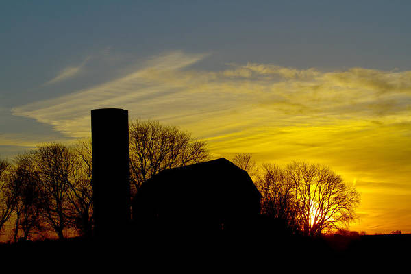 Photograph - Sleeping Farmstead by Phil Koch