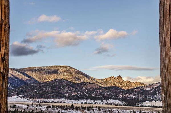 Photograph - Sleeping Giant Framed by Sue Smith