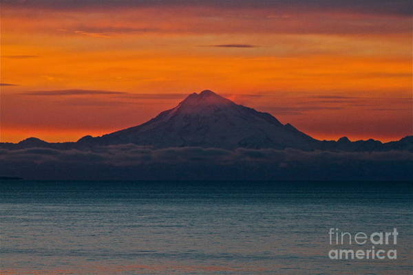 Mount Redoubt Photograph - Sleeping  by Rick  Monyahan
