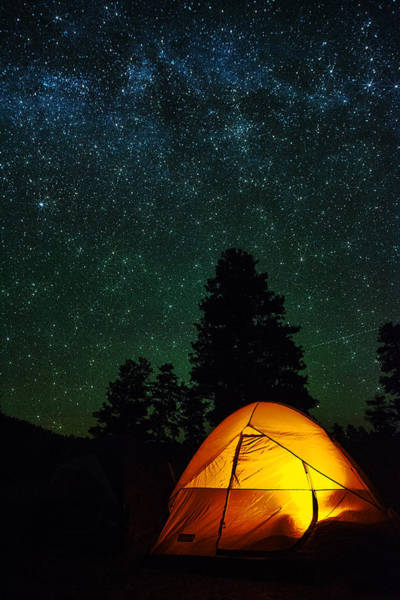 Camping Wall Art - Photograph - Sleeping Under The Stars  by Saija  Lehtonen