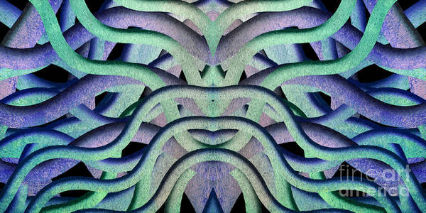 Digital Art - Sleeping Under Water Creature 1 by Andee Design