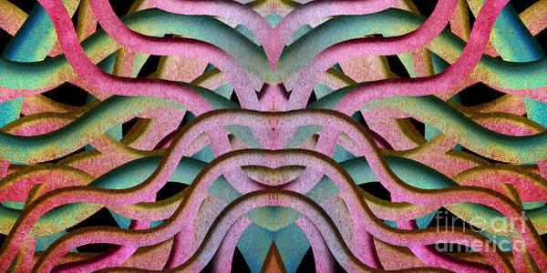 Digital Art - Sleeping Under Water Creature 2 by Andee Design