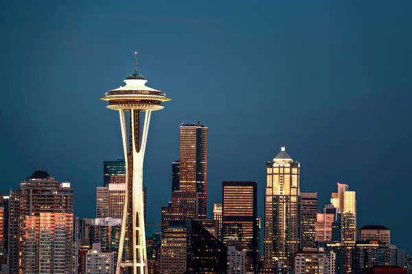 Wall Art - Photograph - Sleepless In Seattle by Eduard Moldoveanu