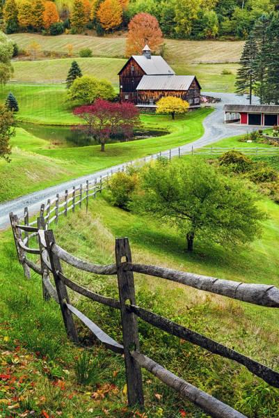 Wall Art - Photograph - Sleepy Hollow Farm In Autumn by Randy Lemoine
