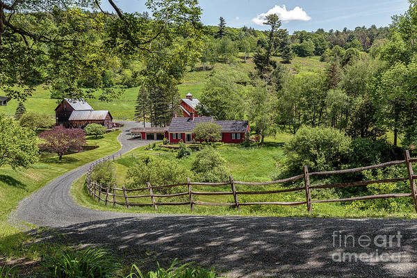 Photograph - Sleepy Hollow Farm by Rod Best