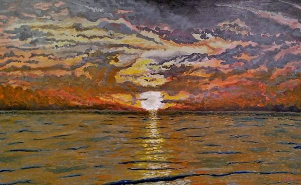 Painting - Sleepy Hollow Sunset by Joel Tesch
