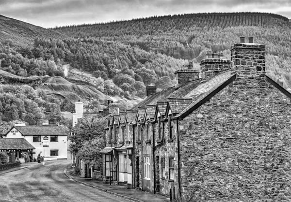 Photograph - Sleepy Welsh Village by Nick Bywater