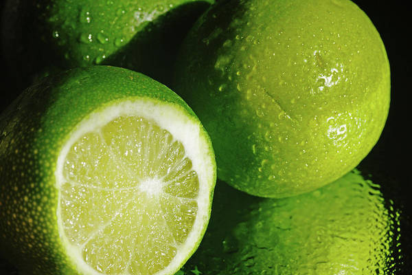 Photograph - Sliced Lime by Mike Murdock