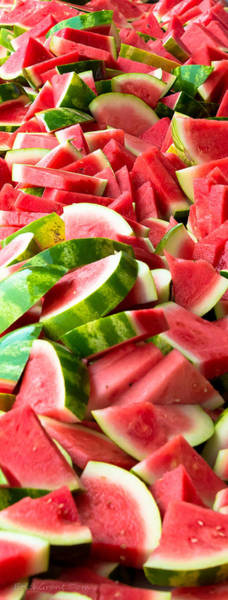 Photograph - Sliced Watermelon by Erich Grant