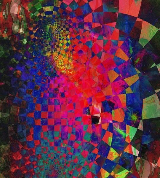 Digital Art - Slices Of Colour by Amanda Moore