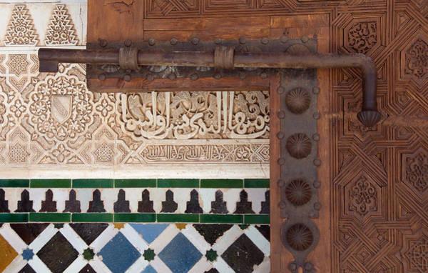 Photograph - Slide Bolt Alhambra by David Kleinsasser