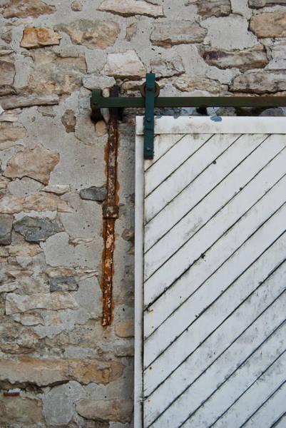 Photograph - Sliding Barn Door 1 by Jani Freimann