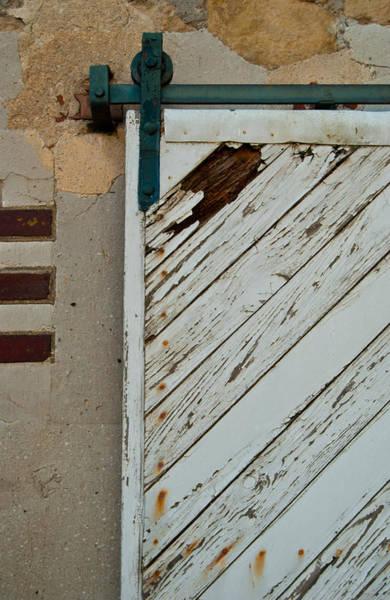Photograph - Sliding Barn Door by Jani Freimann