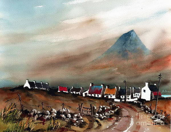 Painting - Slieve Mor, Achil...2098 by Val Byrne