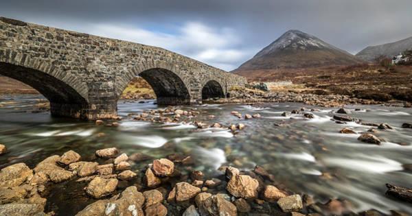 Konica Wall Art - Photograph - Sligachan Bridge Isle Of Skye Scotland United Kingdom by Giuseppe Milo