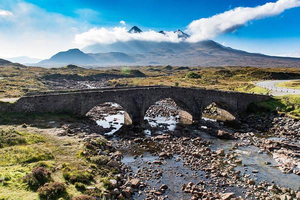 Photograph - Skye Cuillin From Sligachan by Gary Eason